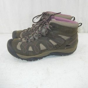 Women's Keen Hiking Mid Boots GTS 0610 Size 8